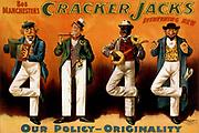 Bob Manchester's Cracker Jacks everything new c1899