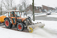 Fietspaden sneeuwvrij