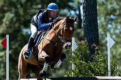 March 22, 2019 - Raeford, North Carolina, US - March 23, 2019 - Raeford, N.C., USA - WILL FAUDREE of the United States riding MICHEL 233 competes in the cross country CCI-4S division at the sixth annual Cloud 11-Gavilan North LLC Carolina International CCI and Horse Trial, at Carolina Horse Park. The Carolina International CCI and Horse Trial is one of North AmericaÃ•s premier eventing competitions for national and international eventing combinations, hosting International competition at the CCI2*-S through CCI4*-S levels and National levels of Training through Advanced. (Credit Image: © Timothy L. Hale/ZUMA Wire)