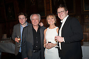 WILLIAM ATTENBOROUGH; KAREN LEWIS; MIKE ATTENBOROUGH; TOM ATTENBOROUGH, The Almeida Theatre  celebrates Mike Attenborough's 11 brilliant years as Artistic Director. Middle Temple Hall,<br /> Middle Temple Lane, London, EC4Y 9AT