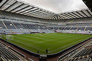 Stadium, St James' Park before the Barclays Premier League match between Newcastle United and Liverpool at St. James's Park, Newcastle, England on 6 December 2015. Photo by George Ledger.