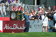 18.01.2013 Abu Dhabi HSBC Golf championship european tour, round 2, Tiger Woods