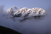 Kanchenchunga, the third highest mountain in the world