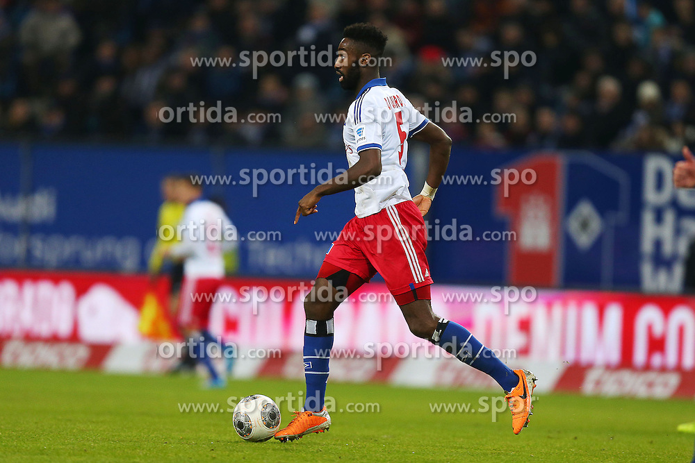 Football: Germany, 1. Bundesliga<br />  Johan Djourou (Hamburger SV, HSV)