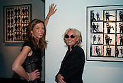 HEATHER KERZNER; AMANDA ELLIASCH, DAVID BAILEY: THEN.-private view of an exhibition of photographs. Hamiltons. London. 6 July 2010. -DO NOT ARCHIVE-© Copyright Photograph by Dafydd Jones. 248 Clapham Rd. London SW9 0PZ. Tel 0207 820 0771. www.dafjones.com.
