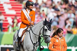 Tim Lips, (NED), Keyflow N.O.P - Jumping Eventing - Alltech FEI World Equestrian Games™ 2014 - Normandy, France.<br /> © Hippo Foto Team - Jon Stroud<br /> 31-08-14