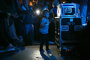 Luca Morinelli, 4, of Greece, dances during an opening set at the Joywave concert at Anthology on East Avenue in Rochester on Saturday, October 10, 2015. Luca is the son of Joywave guitarist Joseph Morinelli.