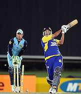 CENTURION, SOUTH AFRICA - 9  January 2009, Rory goes big and goes home off the bowling of Roelof van der Merwe during the MTN Domestic Championship Semi Final match between The Nashua Titans and The Nashua Cape Cobras held at SuperSport Park, Centurion, South Africa..Photo by Barry Aldworth/SPORTZPICS