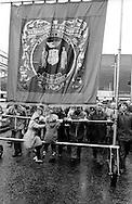 Frickley banner, 1982 Yorkshire Miner's Gala. Doncaster