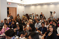 A full house at the CUNY Graduate School of Journalism, host of the 2009 SAJA Convention