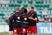 SUNDSVALL, SWEDEN - MAY 19: Tom Pettersson of Ostersunds FK during warm up ahead of the Allsvenskan match between GIF Sundsvall and Ostersunds FK at Idrottsparken on May 19, 2018 in Sundsvall, Sweden. Photo: Nils Petter Nilsson/Ombrello ***BETALBILD***