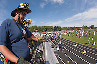 Work Out Laconia at Opechee Park.  Karen Bobotas/for the Laconia Daily Sun