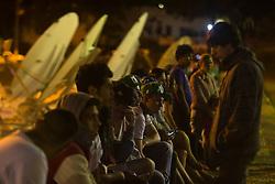 November 30, 2016 - Vigília de torcedores, amigos e familiares das vítimas a Arena Chapecó da tragédia com a Chapecoense. (Credit Image: © Fabrizio Motta/Fotoarena via ZUMA Press)