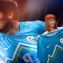 20120228 SLO, Football - Slovenian National team in new jerseys
