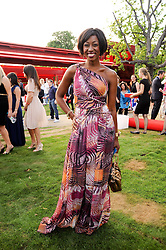 BEVERLEY KNIGHT at the annual Serpentine Gallery Summer party this year sponsored by Jaguar held at the Serpentine Gallery, Kensington Gardens, London on 8th July 2010.  2010 marks the 40th anniversary of the Serpentine Gallery and the 10th Pavilion.