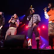 NLD/Amsterdam/20050518 - Concert Black Eyed Peas, Will.I.Am,  Fergie,  Taboo,  Apl.de.Ap.William Adam,  Stacey Ferguson, Jaime Gormez, Allen Pineda