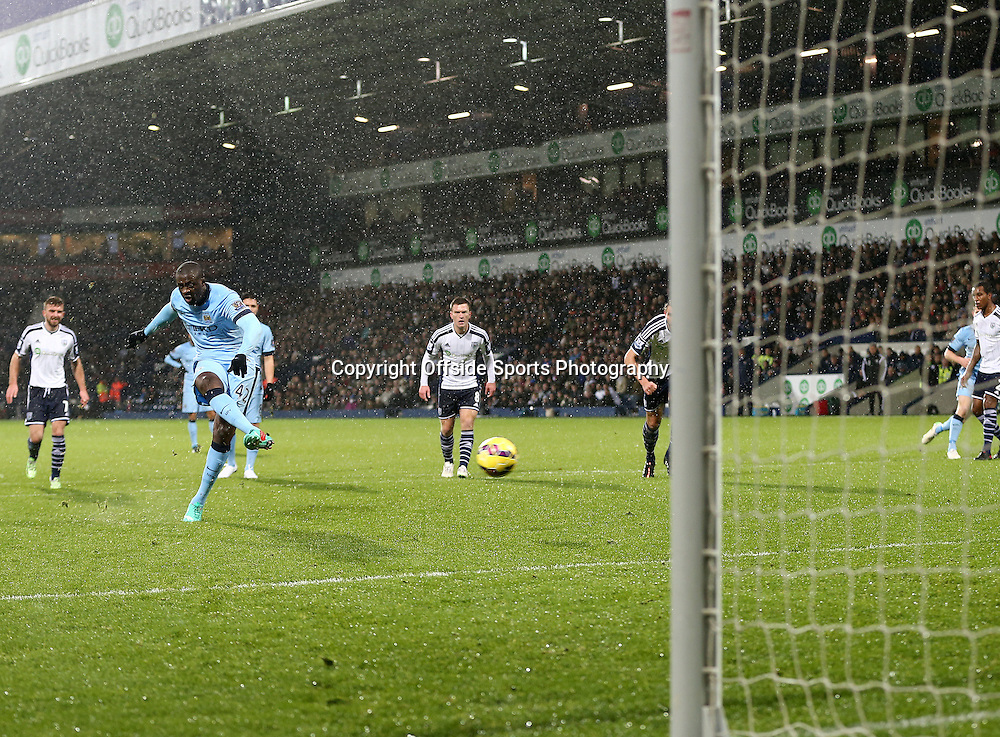 26th December 2014 - Barclays Premier League - West Bromwich Albion v Manchester City - Yaya Toure of Manchester City scores from the spot (0-2) - Photo: Paul Roberts / Offside.