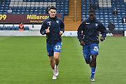 Bury Midfielder, Tom walker (23) and Bury Defender, Leon Barnett (25) during the EFL Sky Bet League 1 match between Bury and Port Vale at the JD Stadium, Bury, England on 3 September 2016. Photo by Mark Pollitt.