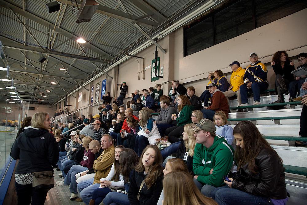 OU v. WVU hockey game, parents weekend, 9/30/11