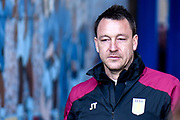 Aston Villa assistant manager John Terry during the EFL Sky Bet Championship match between Birmingham City and Aston Villa at St Andrews, Birmingham, England on 10 March 2019.