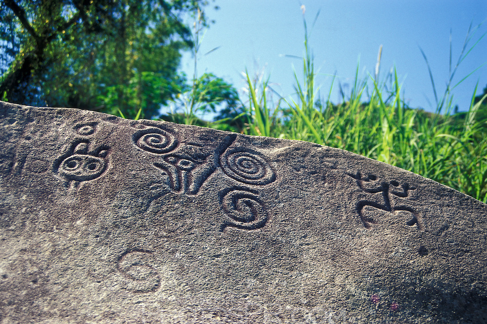 Taino indians carvings
