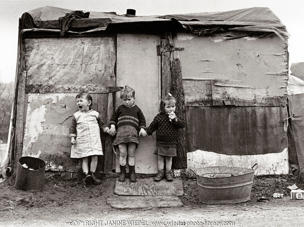 Irish Travellers in Southern Ireland 1970s