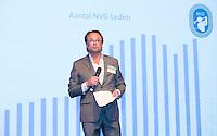 AMERSFOORT - NVG bestuurslid Dirk-Jan Vink Nationaal Golf Congres & Beurs (Het Juiste Spoor) van de NVG.     © Koen Suyk.