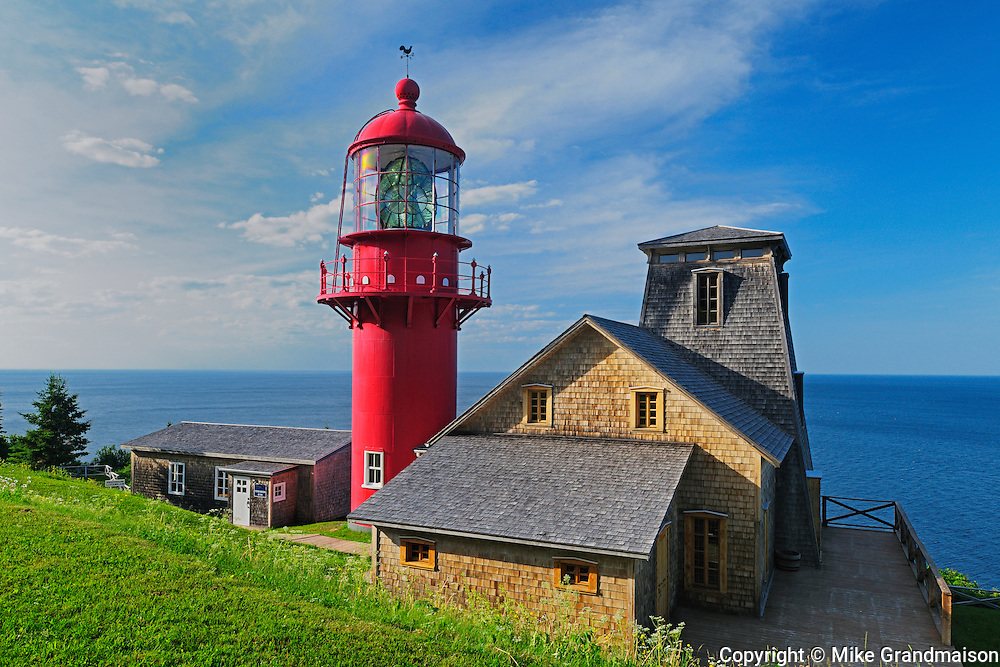 Lighthouse; Phare de Pointe-à-la-Renommée<br /> Pointe-à-la-Renommée<br /> Quebec<br /> Canada