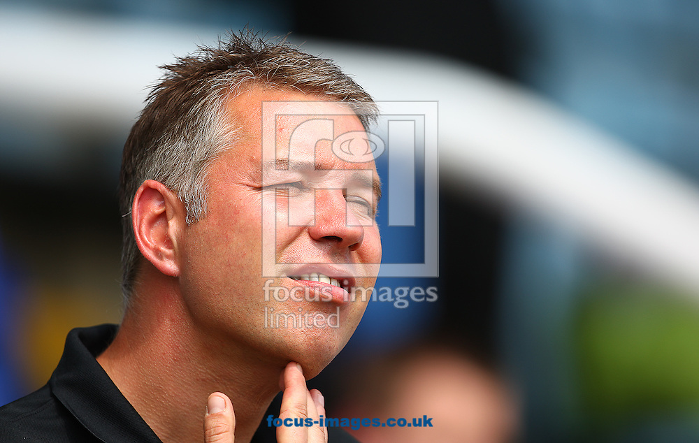 Picture by Rob Fisher/Focus Images Ltd +44 7450 945824<br /> 13/07/2013<br /> Darren Ferguson, manager of Peterborough United during the pre season friendly match at London Road, Peterborough.