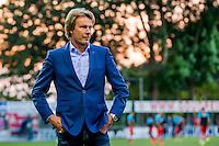 LIENDEN - 21-09-2016, FC Lienden - AZ, Sportpark de Abdijhof, Lienden trainer Hans Kraay jr