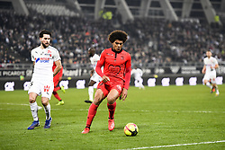 February 23, 2019 - Amiens, France - 25 JORDAN LEFORT (AMI) - 33 LAMINE DIABY FADIGA  (Credit Image: © Panoramic via ZUMA Press)