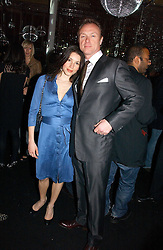 GARY & LAUREN KEMP at the launch party for the fashion label Javovich-Hawk held at the Fifth Floor Cafe, Harvey Nichols, Knightsbridge, London on 27th April 2006.<br /><br />NON EXCLUSIVE - WORLD RIGHTS