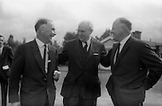 8/9/1964<br /> 9/8/1964<br /> 8 September 1964<br /> <br /> Mr Redmond Gallagher Chairman of Urney Chocolates, Mr Wolfgang Smit the Managing Dirictor of Van Houten and Zoon in Holland and Mr. T.A Headon the Managing Dirctor of Urney Choclate