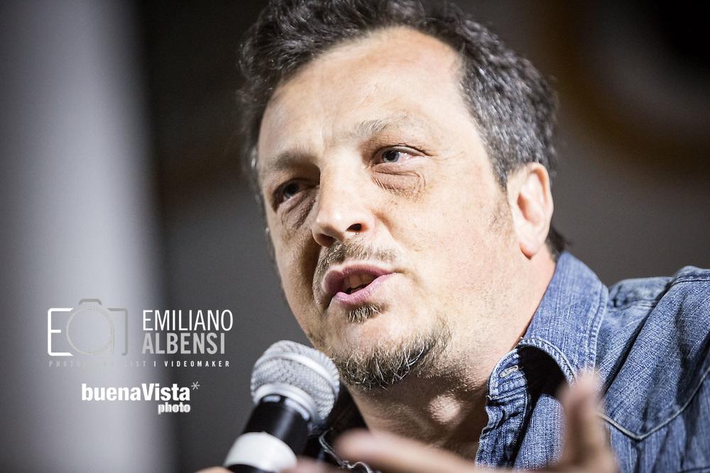Maratea, Basilicata, Italia, 24/08/2014<br /> Il regista italiano Gabriele Muccino<br /> <br /> Maratea, Basilicata, Italy, 24/08/2014<br /> The Italian director Gabriele Muccino