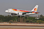 Israel, Ben-Gurion international Airport Iberia Airbus A319-111