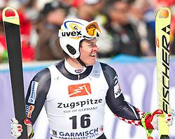 12.03.2010, Kandahar Strecke Herren, Garmisch Partenkirchen, GER, FIS Worldcup Alpin Ski, Garmisch, Men Giant Slalom, im Bild Kostelic Ivica, ( CRO, #16 ), Ski Fischer, EXPA Pictures © 2010, PhotoCredit: EXPA/ J. Groder / SPORTIDA PHOTO AGENCY