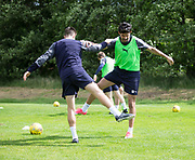 Dundee new boy Sofien Moussa during Dundee FC training at Michelin Grounds, Dundee, Photo: David Young<br /> <br />  - © David Young - www.davidyoungphoto.co.uk - email: davidyoungphoto@gmail.com