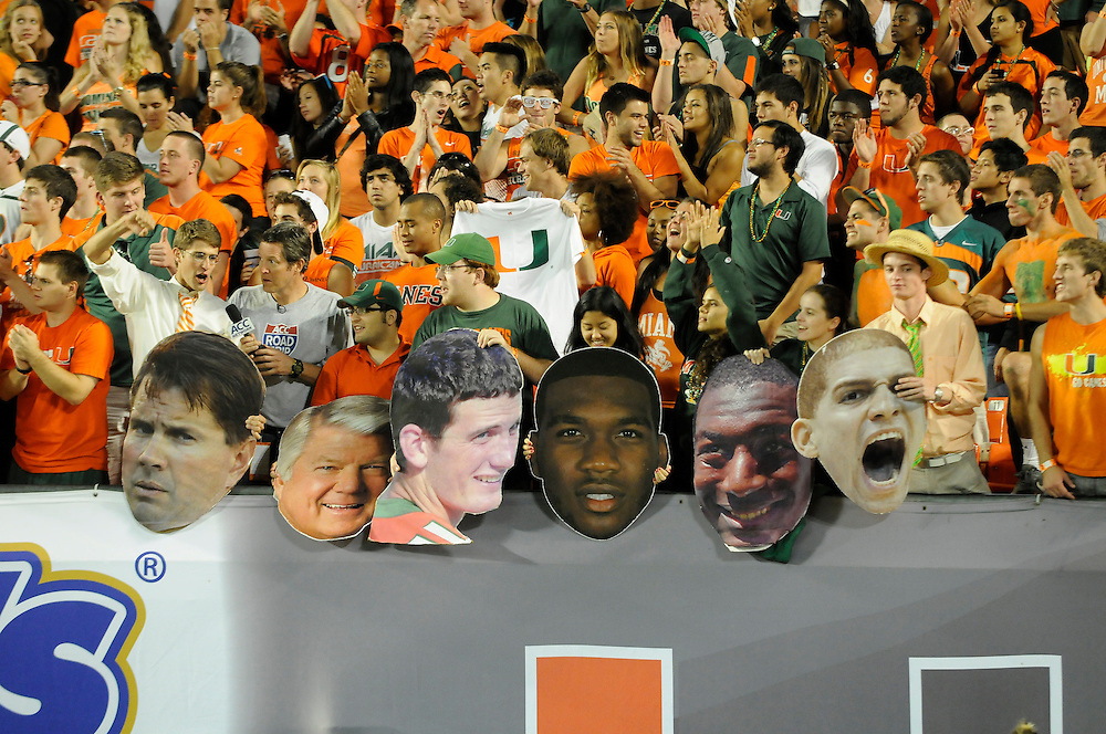 2012 Miami Hurricanes Football vs Virginia Tech