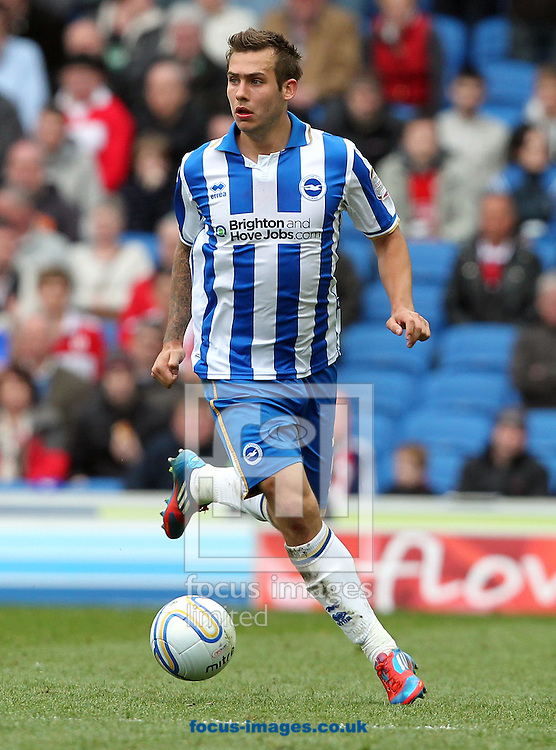 Picture by Paul Terry/Focus Images Ltd. 07545642257.31/03/12.Joe Mattock of Brighton and Hove Albion during the Npower Championship match at The American Express Community Stadium, Brighton.