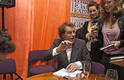 Tom Parker Bowles, Tom Parker Bowles, Susan Hill and Matthew Rice host party to launch 'E is For Eating' Kensington Place. 3 November 2004.  ONE TIME USE ONLY - DO NOT ARCHIVE  © Copyright Photograph by Dafydd Jones 66 Stockwell Park Rd. London SW9 0DA Tel 020 7733 0108 www.dafjones.com