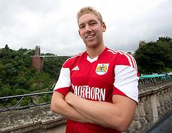 Scott Wagstaff of Bristol City - Photo mandatory by-line: Kieran McManus/JMP - Tel: Mobile: 07966 386802 31/07/2013 - SPORT - FOOTBALL - Avon Gorge Hotel - Clifton Suspension bridge - Bristol -  Team Photo