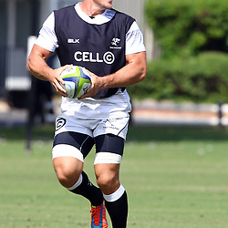 DURBAN, SOUTH AFRICA, Friday 15, January 2016 -  Jean Deysel during The Cell C Sharks Pre Season training Friday 145h January 2016,for the 2016 Super Rugby Season at Growthpoint Kings Park in Durban, South Africa. (Photo by Steve Haag)<br /> images for social media must have consent from Steve Haag
