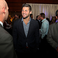 ESPN's Tim Tebow is seen during the SEC Network launch party in Charlotte, N.C. ©Travis Bell Photography