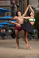 Ballerina & Dancers Madison Square Park New York City Dance As Art Photography with Sabrina Imamura and Andy Jacobs