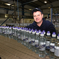 Highland Spring....22.01.08<br /> Gordon Reid, Process Improvement Engineer on the bottling line at Highland Spring pictured at the frims HQ in Blackford, Perthshire.<br /> Picture by Graeme Hart.<br /> Copyright Perthshire Picture Agency<br /> Tel: 01738 623350  Mobile: 07990 594431