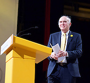 Lib Dem Spring Conference day 1 <br /> at the Echo Arena / BT Convention centre in Liverpool, Great Britain <br /> 14th March 2015 <br /> <br /> <br /> Vince Cable <br /> speech <br /> <br /> <br /> Photograph by Elliott Franks <br /> Image licensed to Elliott Franks Photography Services