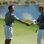 22 March 2016: The San Diego State Aztecs men's golf team hosts the Barona Collegiate Cup at Barona Creek Golf Club located in Lakeside, California.