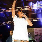 AUSTIN, TX - March 17th: Rapper Wiz Khalifa performs at the Atlantic Records showcase at La Zona Rosa as part of the 2011 South by Southwest Festival. (Photo by Kyle Gustafson)