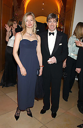 MR TIM & LADY HELEN TAYLOR at a fundraising gala to celebrate 150 years of The National Portrait Gallery, at the NPG, St.Martin's Place, London on 28th February 2006.<br />