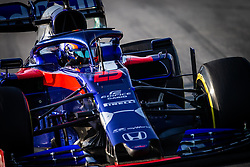 February 21, 2019 - Barcelona, Spain - 23 ALBON Alexander (tha), Scuderia Toro Rosso Honda STR14, action during Formula 1 winter tests from February 18 to 21, 2019 at Barcelona, Spain - Photo  Motorsports: FIA Formula One World Championship 2019, Test in Barcelona, (Credit Image: © Hoch Zwei via ZUMA Wire)